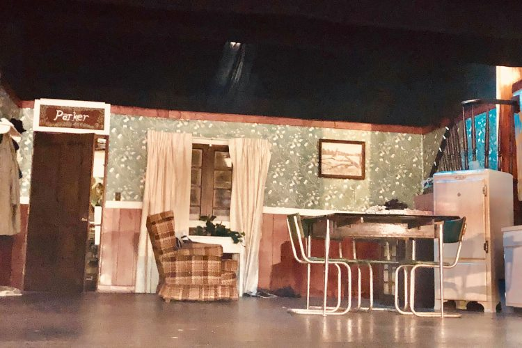 the set from a christmas story